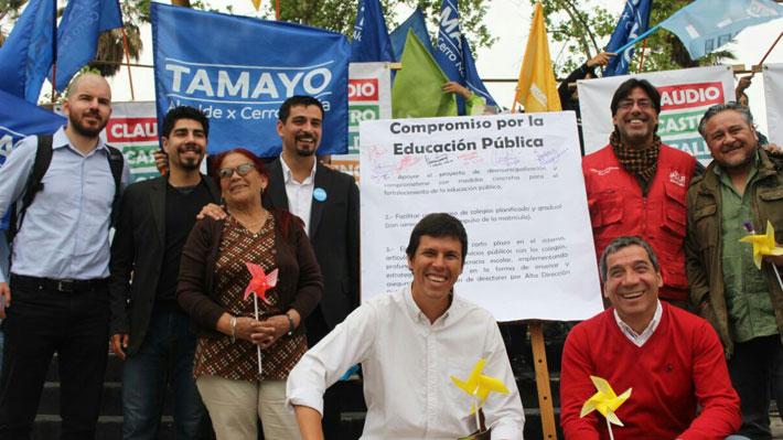 Municipales: Alcaldes y candidatos firman compromiso por la educación pública